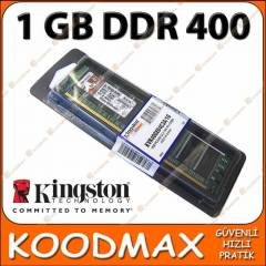 1 GB DDR 400 RAM Kingston PC3200 - SIFIR !!
