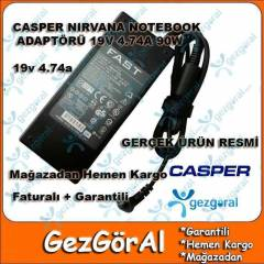 CASPER NIRVANA NOTEBOOK ADAPTÖRÜ 19V 4.74A 90W