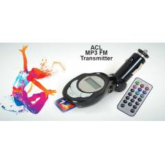 ARABA ARAÇ ÇAKMAK MP3 PLAYER FM TRANSMİTTER