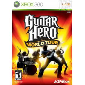 XBOX 360 GUITAR HERO WORLD TOUR TEM�Z KA�MAZ