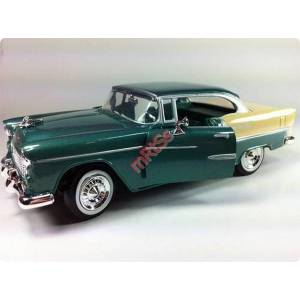 MOTOR MAX 1:24 1955 CHEVY BEL AIR MODEL ARABA