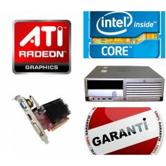 HP CORE 3.4GHZ 4MB CACHE ATİ EKRAN KART OYUN PC!