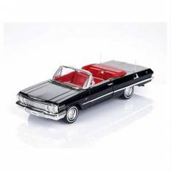 1:24 WELLY 1963 CHEVROLET IMPALA SİYAH