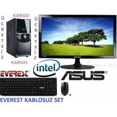 22 LED İNTEL i7 3770+4 GBRAM+2GB E,KART+320 HDD