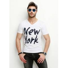 Exxit New York Mc V Yaka Licra Tshirt
