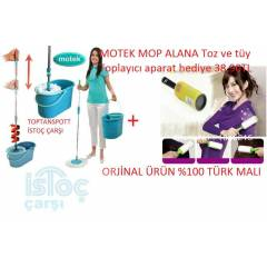 Motek Magic orjinal Pratik Migrofiber Mop Seti