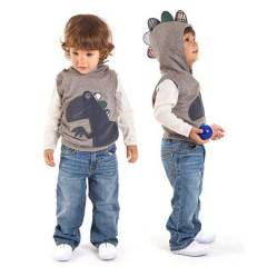 Deno Kids Dino Kolsuz Sweat