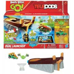 ANGRY BİRDS GO TELEPODS DUAL LAUNCHER SETİ