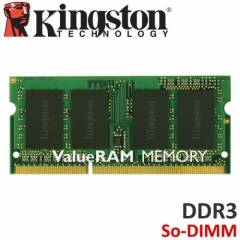 KINGSTON 8GB DDR3 1600 MHZ NOTEBOOK RAM*