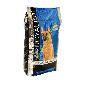 Royalist Lamb & Rice Premium Dog Food 15 kg