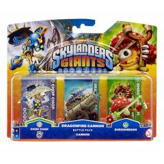 SKYLANDERS GIANTS MACERA PAKETİ DRAGONFIRE CANNO