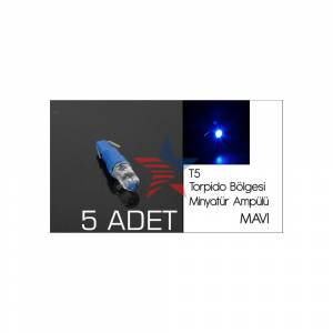 Carub MAV� Led T5 Tip TORP�DO B�LGES� Amp�l�