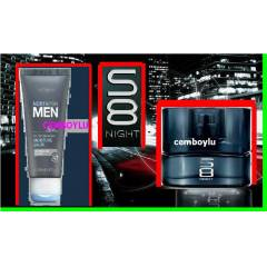 Oriflame S8 NİGHT edt Bay parfümü ve BALM