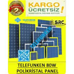 80watt güneş paneli Super Power solar panel -12v