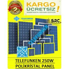 250watt güneş paneli SuperPower solar panel -24v