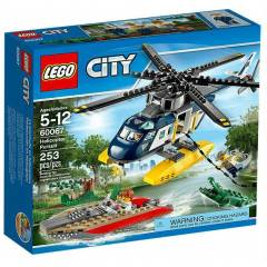Lego City (2015) Helicopter Pursuit 60067