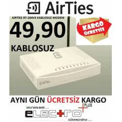 AİRTİES RT-204V3 WİRELESS KABLOSUZ ADSL 2 MODEM