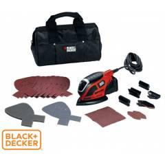 Black&Decker KA1000 Mouse (Üçgen) Zımpara