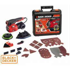Black Decker KA280K Auto Select Ayarlı Zımpara
