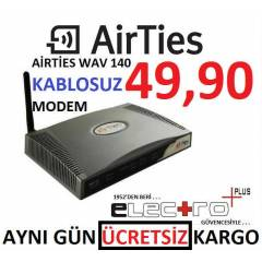 AİRTİES WAV-140 WİRELESS KABLOSUZ ADSL 2 MODEM