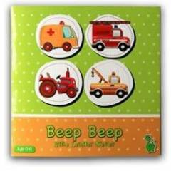 Yeşil Dinozor Little Learner Series - Beep Beep