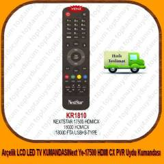 Next Ye-17500 HDMI CX PVR Uydu Kumanda