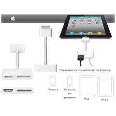 iphone 4 4s ipad2 ipad 3 HDMI DİGİTAL Av Kablo S