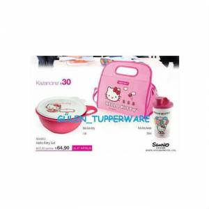 TUPPERWARE HELLO K�TTY SET 3 PAR�A