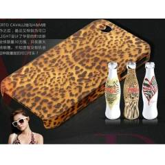 APPLE iPHONE 4/4S LEOPAR DESEN ARKA KAPAK KILIF