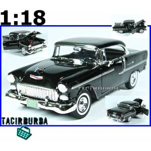 Mdl Motor Max 1955 Chevy Bel Air 118 Model Araba