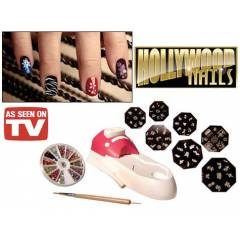 Nail Art Hollywood Tırnak Süsleme Seti
