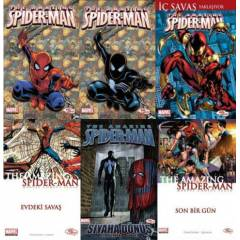 THE AMAZING SPIDER-MAN 1-6 TAM TAKIM*HOZ&MARVEL*