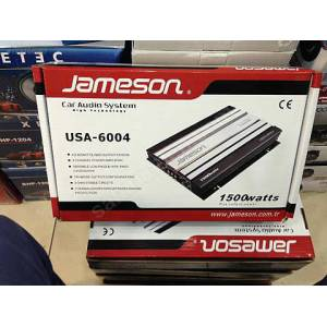 JAMESON USA-6004 1500 WATT 4 KANAL OTO ANF�
