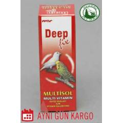 Deep Kuş Vitamini Multisol