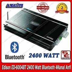 Edison ED-6004BT 2400Watt Bluetooth 4Kanal Anfi