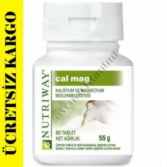 AMWAY NUTRİWAY CALCİUM MAGNESİUM 80 TABLET