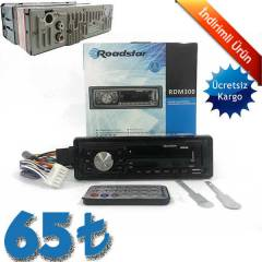 Roadstar Rdm-300 usb sd radyo mp3 oto teyp