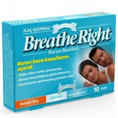 Breathe Right Şeffaf Normal Boy Burun Bandı