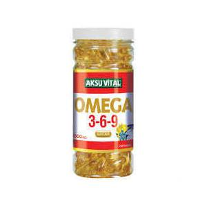 AKSU V�TAL OMEGA 3-6-9 100 SOFTGEL 1000 MG