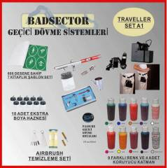 AIRBRUSH GE��C� D�VME TRAVELLER SET A1 - RES�F