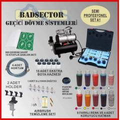 AIRBRUSH GE��C� D�VME SEMI PRO SET A1 - RES�F
