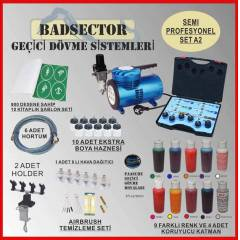 AIRBRUSH GE��C� D�VME SEMI PRO SET A2 - RES�F