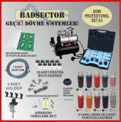 AIRBRUSH GE��C� D�VME SEMI PRO SET A3 - RES�F