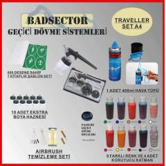 AIRBRUSH GE��C� D�VME TRAVELLER SET A4 - RES�F