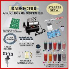AIRBRUSH GE��C� D�VME STARTER SET A1 - RES�F