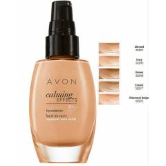 AVON CALMİNG EFFECTS DOĞAL VE MAT FONDÖTEN 30 ML