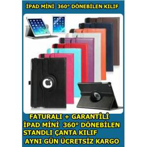 Ipad Mini K�l�f 360 D�NEN TABLETLE TAM UYUM+F�LM