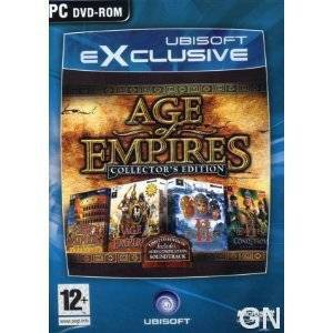 PC AGE OF EMPiRES COLLECTORS EDiTiON (OR�J�NAL)