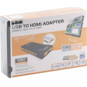 S-LINK SL-UH595 USB 2.0 TO HDMI ADAPTER