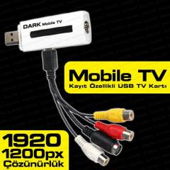 Dark Full HD Analog Harici USB Tv Kartı